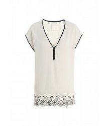 V-neck White V- Neck T Shirt