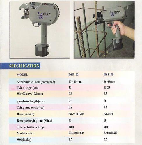 Automatic Rebar Tying Machine Deevin Group