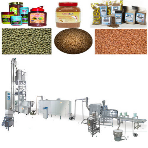 Extrusion Feed Processing Line - Fish Feed Processing Line