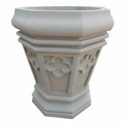 15 Feet Gwalior Mint Stone Planter
