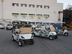 4-14 Seater Golf Cart Rental Service - On Hire