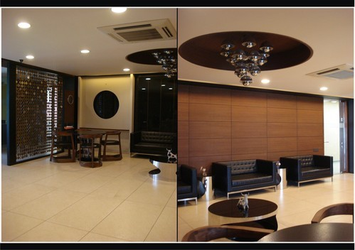 Office Turnkey Interior Service in Ghatlodia, Ahmedabad, Brown Intra ...
