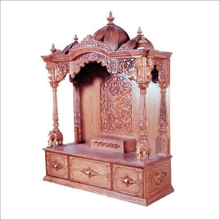 Teak Wood Designer Home Temples Rs 20000 Pieces Furniture World
