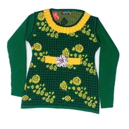 Girls Designer Cardigan, Kids Cardigan - Rakesh Knitwears ...