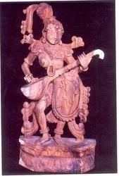 Wooden Statue VU