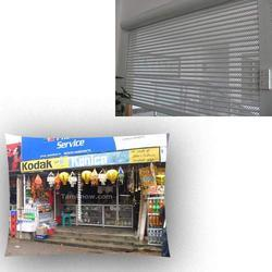 Automatic Rolling Shutters for Shops