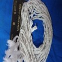 White Jade Cut Beads