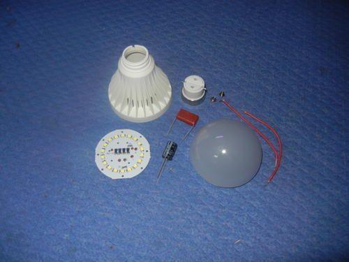 Led bulb parts omtek technology manufacturer in delhi id led bulb parts mozeypictures Gallery