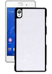 Soft Plastic Black Sony Xperia Z3 Blank Case
