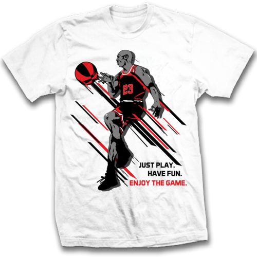 a88dc75eaa3b Michael Jordan T Shirts - View Specifications   Details of Sports T ...