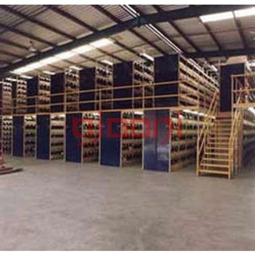 Heavy Duty Two Tier Racking System
