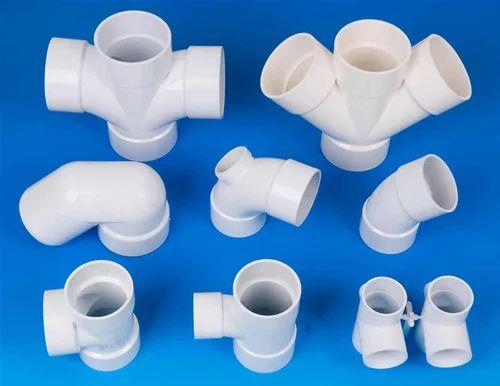 Tirupati PVC Plumbing Fittings, For Hydraulic Pipe, Size