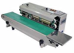 Sairaj Band Sealer, For Pouch Sealing, Production Capacity: 10-15 Pouches/Min