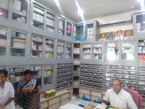 Pharmacy store design in avadi chennai id 9631212812 - Mobile shop interior design ideas ...