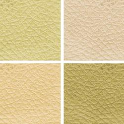 Cream Leather Fabric