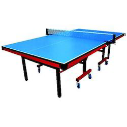 Table Tennis Table Hurricane with Wheels