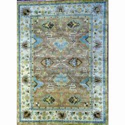 Decorative Turkish Oushak Rug