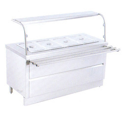 Bain Marie Sneeze Guard with Tray