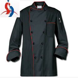 Black and Red Chef Coat