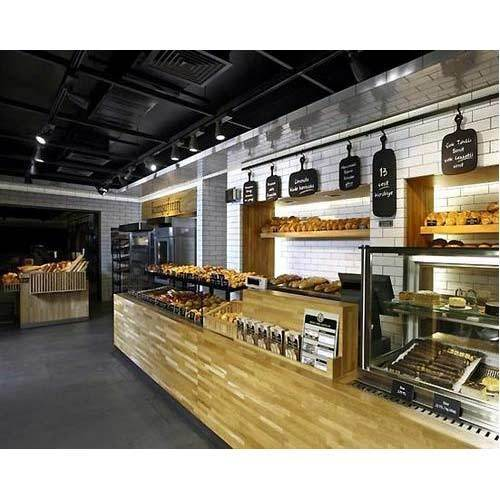Shop Interior Design: Bakery Shop Interior Designers In Bharat Vihar, New Delhi