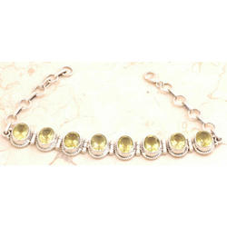 Dazzling Lemon Quartz Bracelet