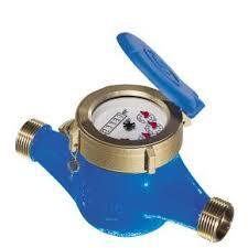 CHAMBAL Brass WATER METER MULTI JET TYPE, Is-779, Line Size: 25 Mm