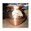 Copper Lota, For Home, Capacity: 500 Gm