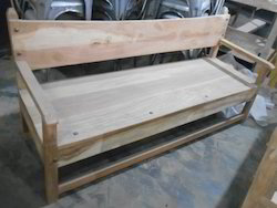 Solidwood Arm Bench