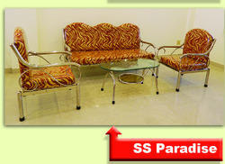 Stylish Stainless Steel Sofa Set