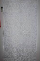 Applique Butterfly Cutwork Curtains