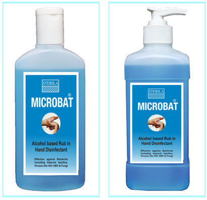 Microbat Hand Cleaner | Quest Hospital Solution | Manufacturer in