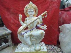 Idols Saraswati Maa Marble Statue