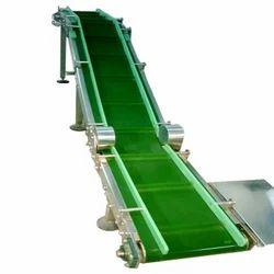 Horizontal Cleated Belt Conveyor