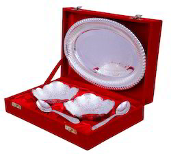 Silver Plated Bowls Set