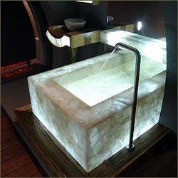 Semi Precious Stone Bathroom Furniture