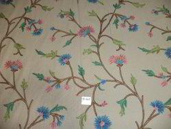 Crewel Upholstery Fabric