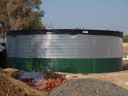 Coated Water Tanks