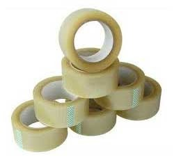 White Self Adhesive BOPP Tape