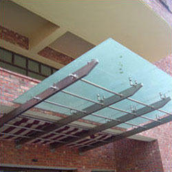 Stainless Steel Entrance Canopy
