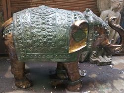 12 Brass Elephant, For Promotional Use