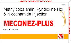 Methylcobalamin, Pyridoxine Hcl & Nicotinamide Injection
