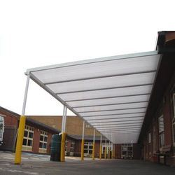 Commercial Parking Sheds