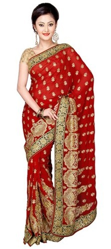 28edc026f Exclusive Red Dulhan Saree at Rs 1350  piece