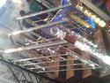 Glass Baluster Designer Railing