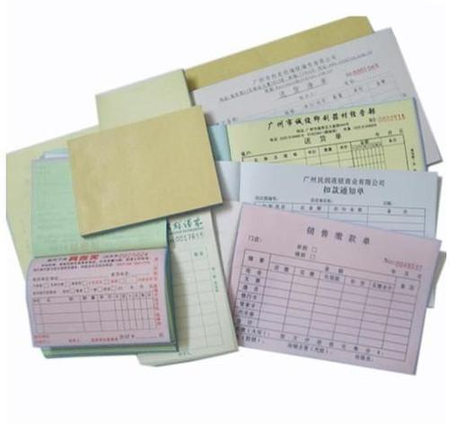 custom carbonless invoices printing services in sarkhej road