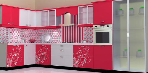 Colorful Modular Kitchen, Living Room & Plastic Furniture | Aarjay ...