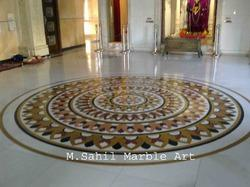 Marble Temple Inlay