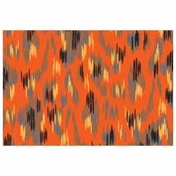 Printed Multicolor Ikat Scarves