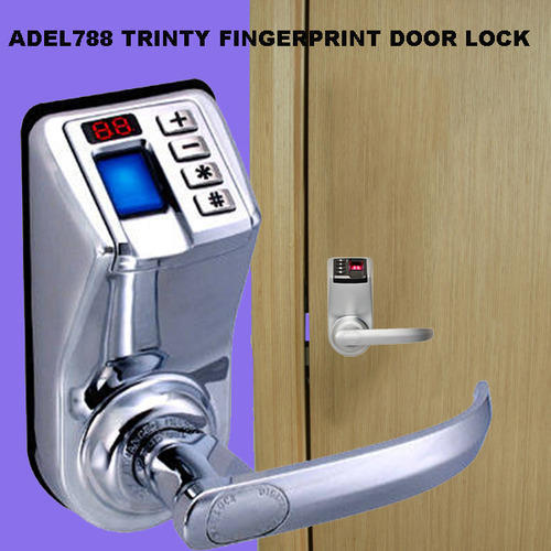 Adel788 Trinty Fingerprint Password Door Lock & Adel788 Trinty Fingerprint Password Door Lock at Rs 10000 /no ...