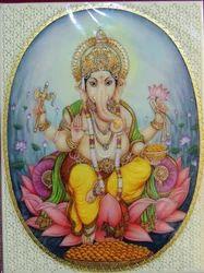 Ganesha Miniature Painting